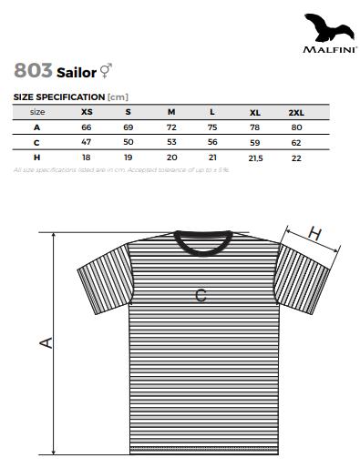 Tričko námořnické pánské