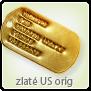 Ražba identifikačních známek zlatých US originál