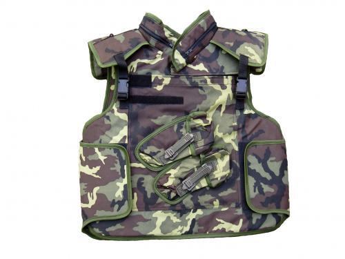 Neprůstřelná balistická vesta bez výplně vz.95