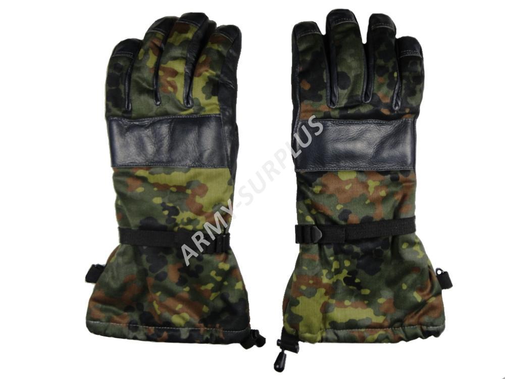 Rukavice zimní BW (Bundeswehr) flecktarn