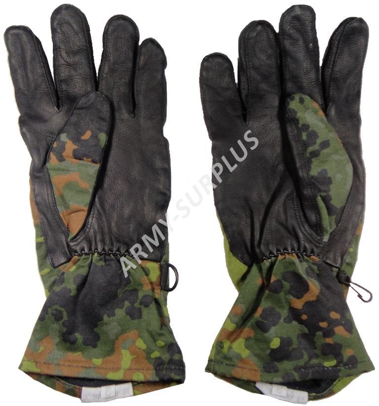 Rukavice BW (Bundeswehr) nomex flecktarn
