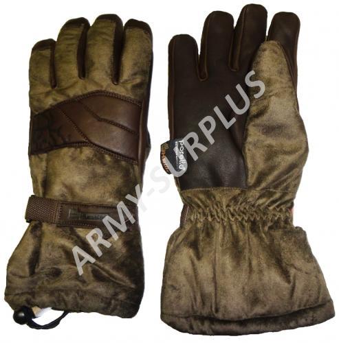 Myslivecké rukavice Holík Evelyn Green 8314 - zimní