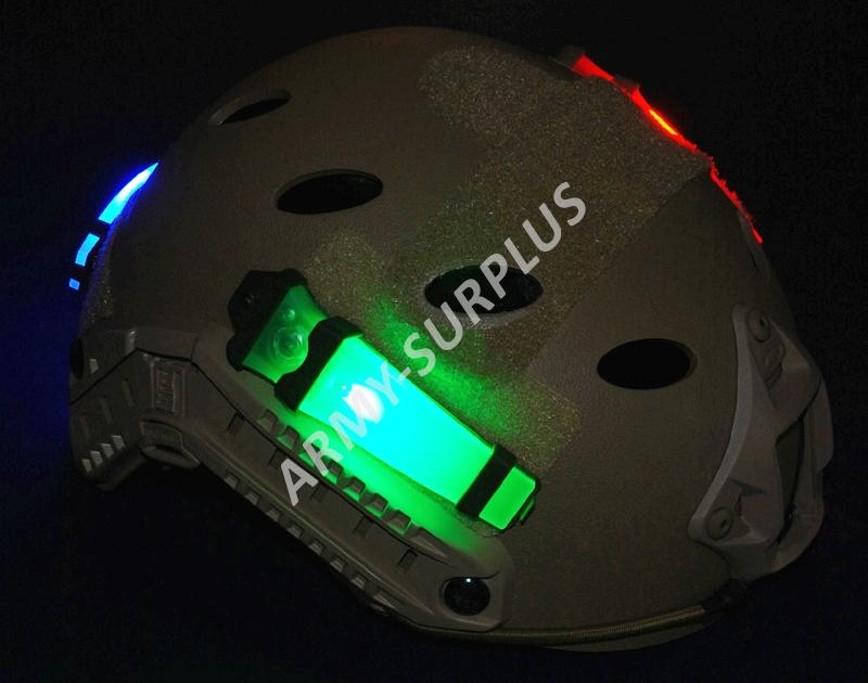 Osvětlení na helmu E-Lite