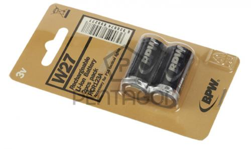 Baterie (akumulátor) nabíjecí Pentagon 3V RCR123A