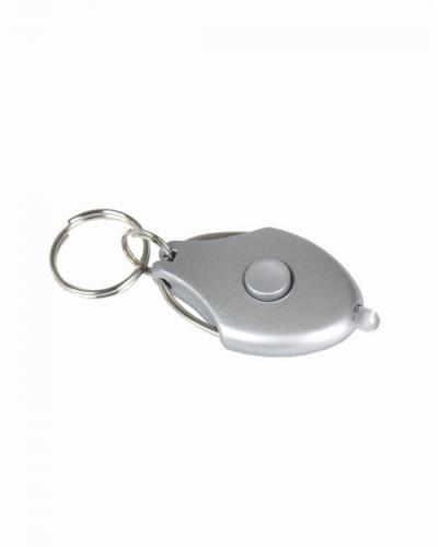 Baterka na klíče LED zelená