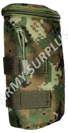 Pouzdro molle na láhev airsoft digital woodland marpat
