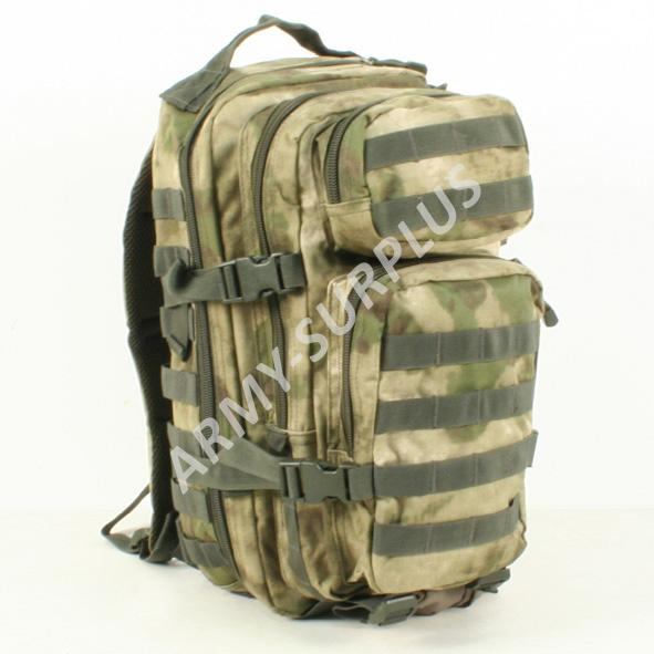 d5f7cc7f22 Batoh ASSAULT Pack US 20L molle A-TACS ATACS ICC FG malý Miltec ...