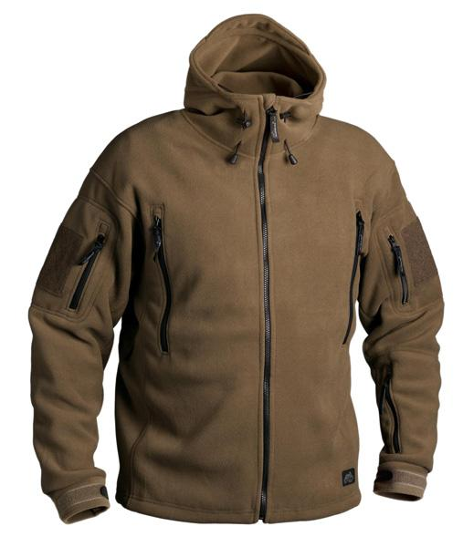 Mikina Helikon Patriot Heavy Fleece Jacket coyote BL-PAT-HF-11