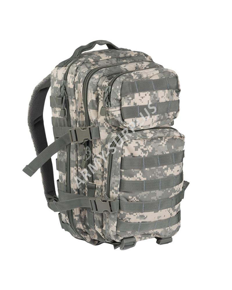 Batoh ASSAULT Pack US 20L molle ACU AT-Digital malý Miltec