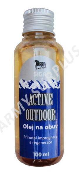 Olej na obuv active outdoor