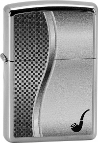 22877 ZIPPO#250 PIPE LIGHTER ALL CHROME