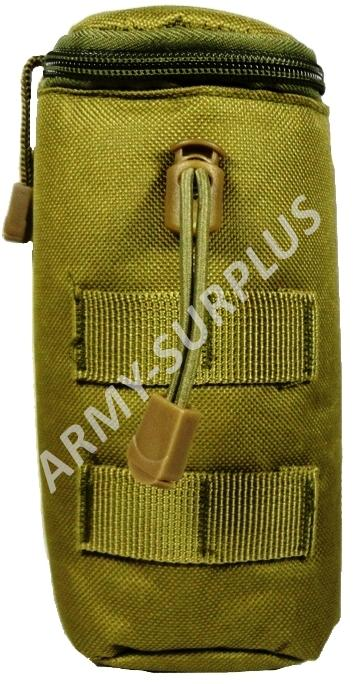 Pouzdro molle na láhev airsoft coyote