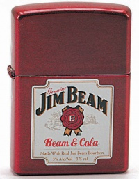 26242 ZIPPO#21063 JIM BEAM AND COLA