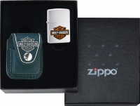 44015 OUT ZIPPO#HDP6 POUCH GIFT SET