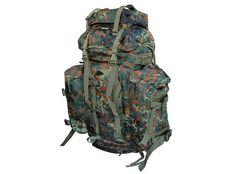 Batoh BW Mountain flecktarn Commando 100L
