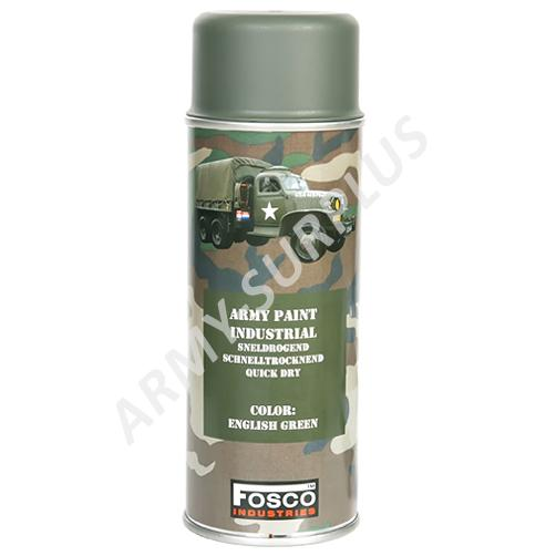 Barva ve spreji ARMY ENGLISH green 400ml