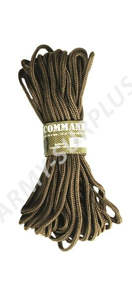Šňůra commando 5mm coyote 15m